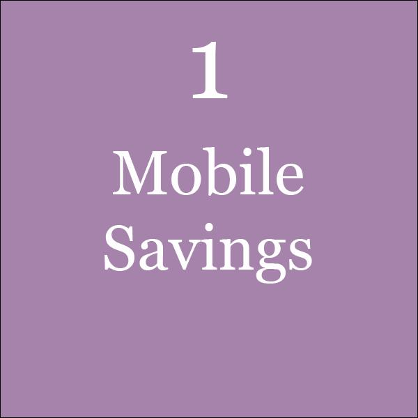 Mobile Savings